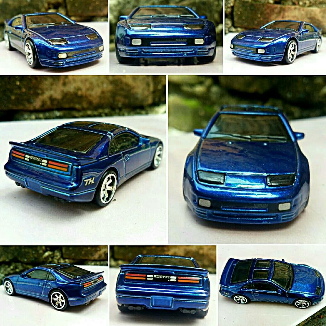 Hot wheels ths nissan 300xs, factory loose