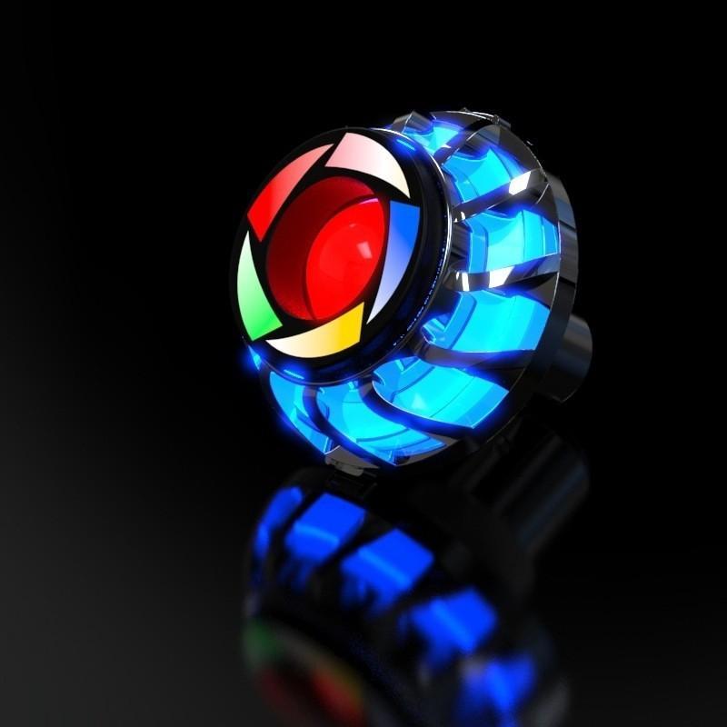 Iron Man Colorful Taillight