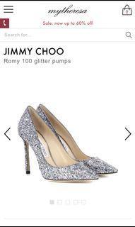 JimmyChoo 婚鞋 38號 跟高 8.5公分