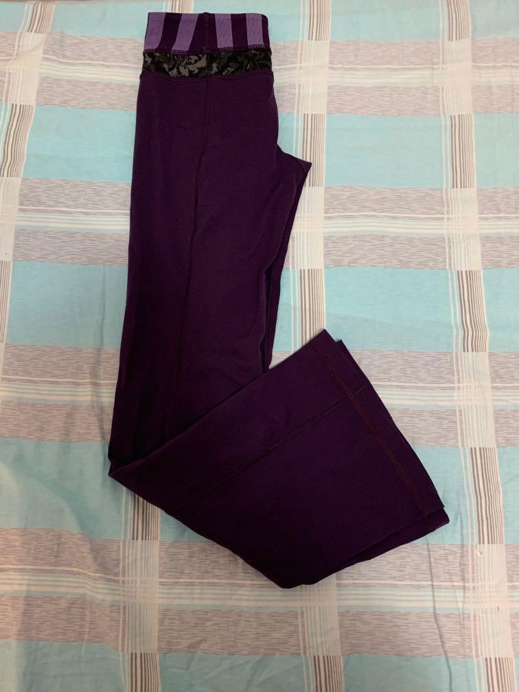 Lululemon flared pants: size 4