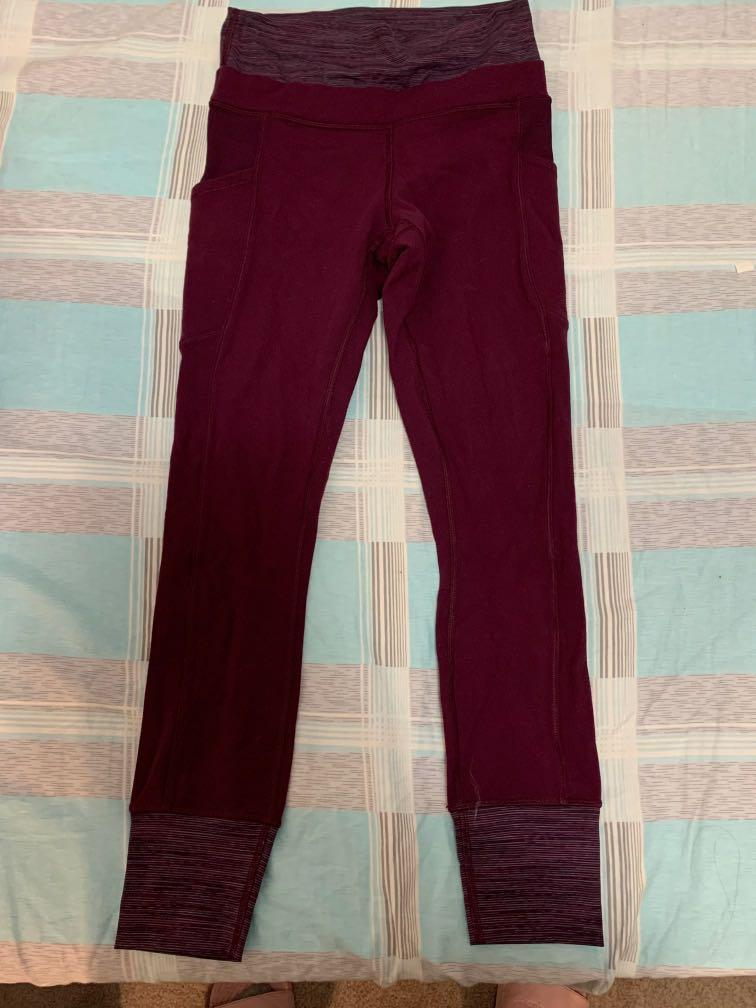 Lululemon leggings: size 4