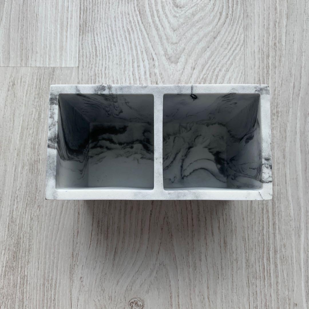 Marble storage organizer