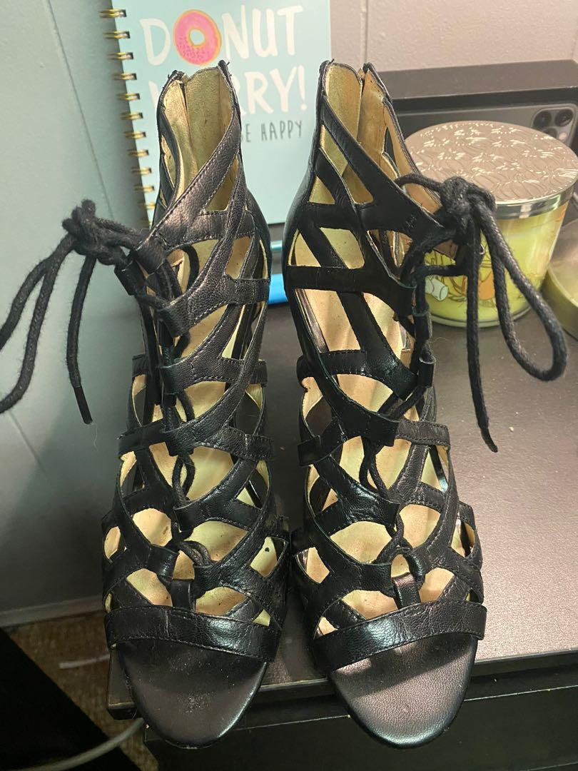 NINE WEST 6.5 WOMENS HEELS only worn once