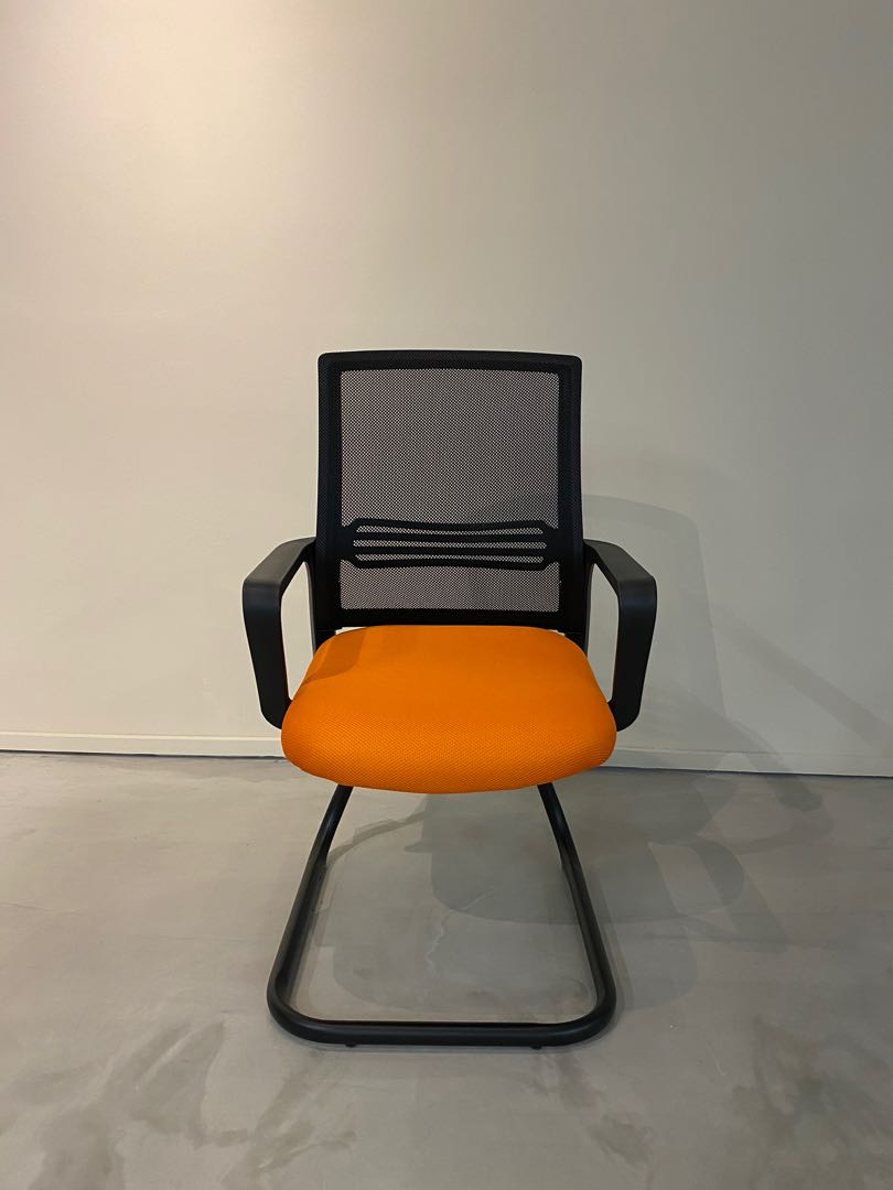 Picture of: Office Chair No Wheels Furniture Tables Chairs On Carousell