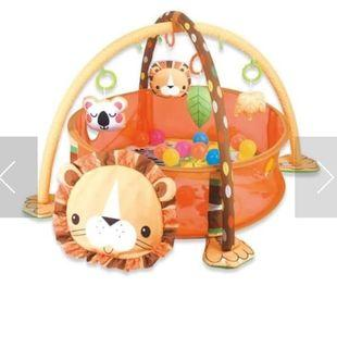 Bebe Smart Triple Fun Ball Pit - Lion (Orange)