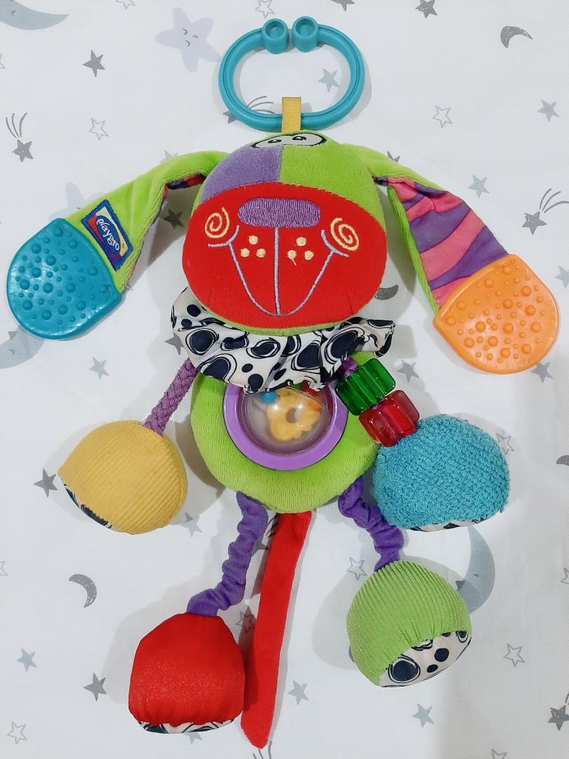 Playgro Dog Baby Sensory Toy