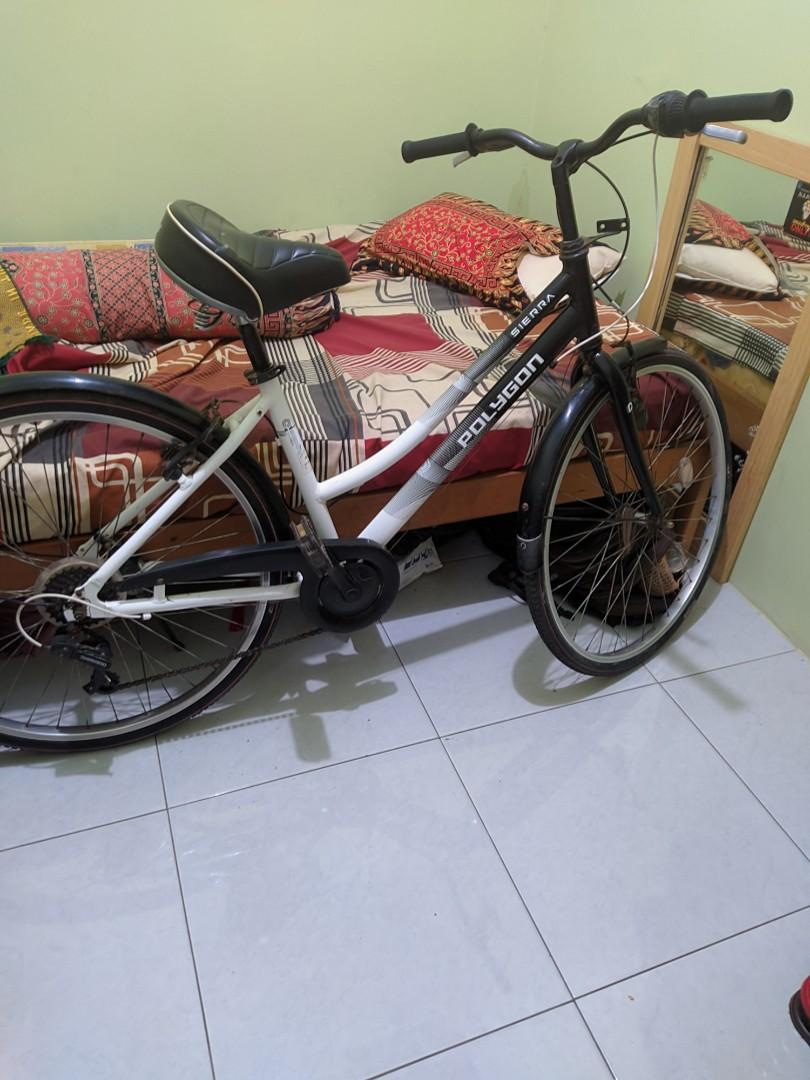 Polygon Sierra full alloy Dan jok suspension