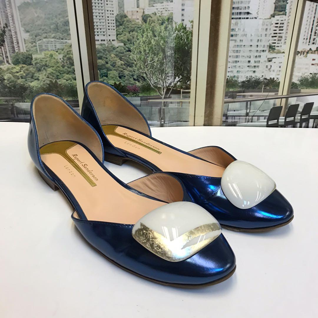 Rupert Sanderson Flat Shoes, 名牌, 時尚