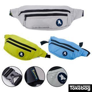 SIFUBEG Wizurai Water Resistant YKK Zipper Waist Pouch Bag 24cm x 13cm x 8cm