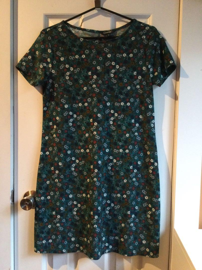 Small floral dress size small
