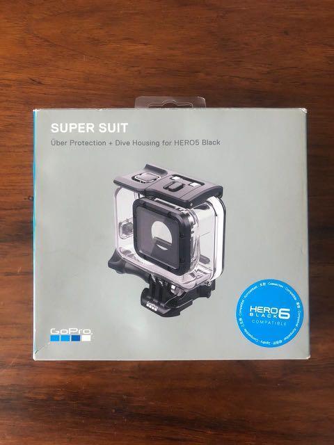Super suit gopro hero 5/6/7 uber protection (casinh gopro underwater)