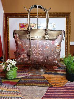 Tas Brera Italy Gold Large Authentic #End of Year Sale