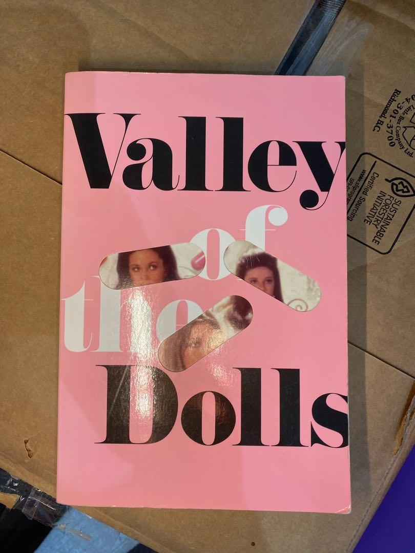 """Valley of the dolls"" book by Jacqueline Susann"