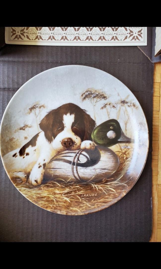 Vintage Decor Plates