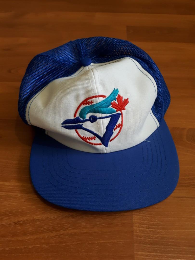 Vintage Toronto Blue Jays Mesh Snapback Hat Ted Fletcher Trucker Baseball Cap