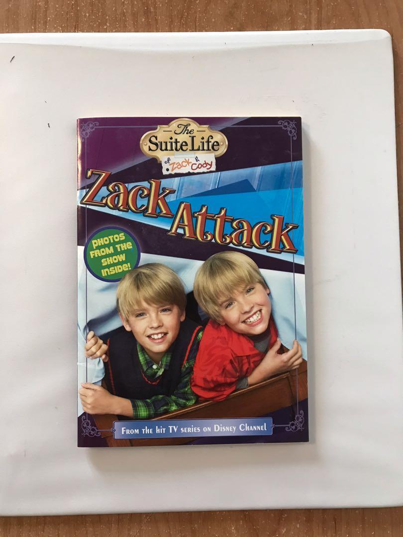 Zack & Cody Children's Book