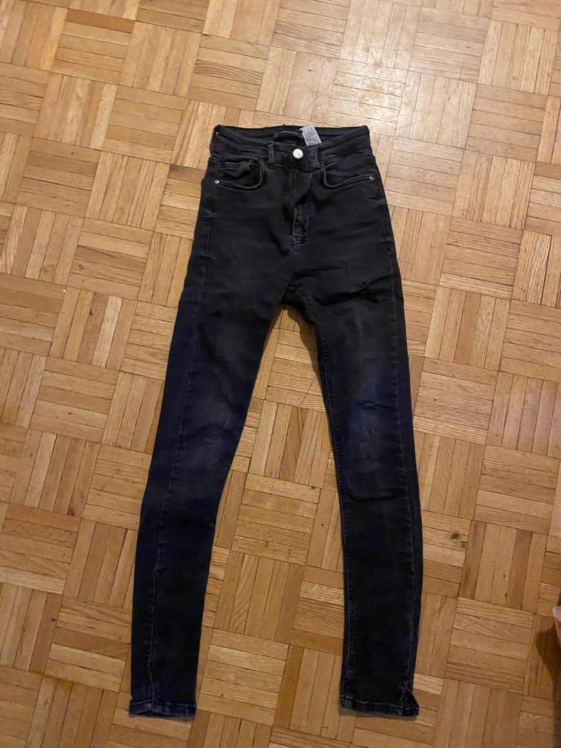 Zara high waisted pants