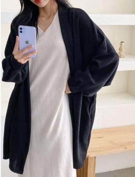 正韓外套  長版罩衫