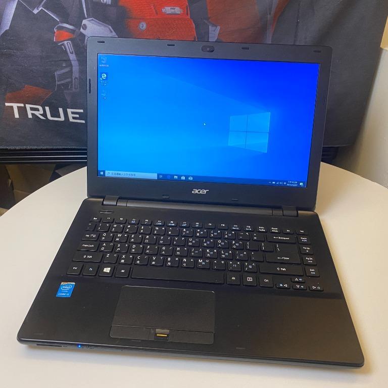成欽電腦 Acer TravelMate 經典商務二手筆電(黑) i5-4210M