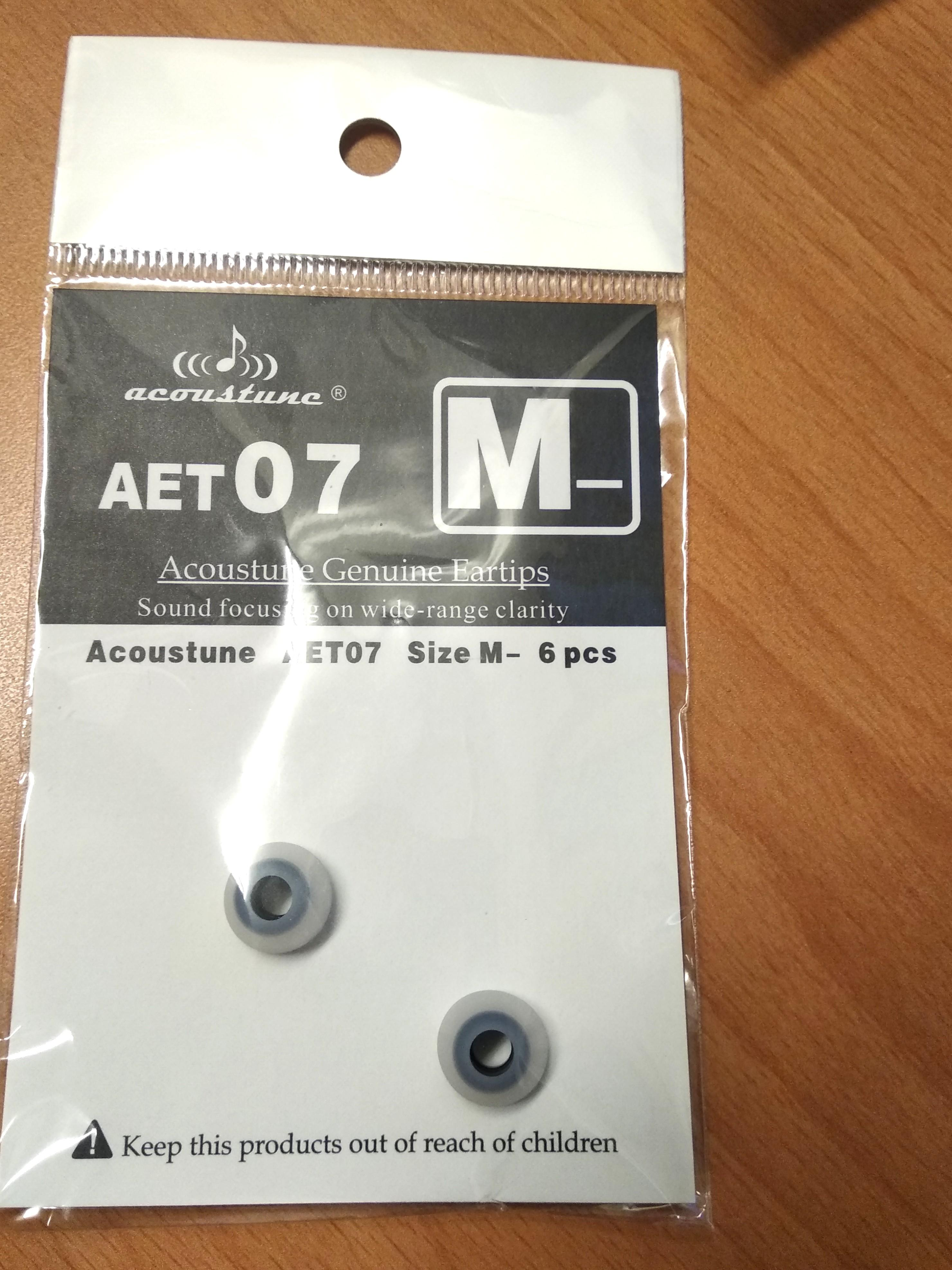 Acoustune AET07 M-號 耳機耳塞一對