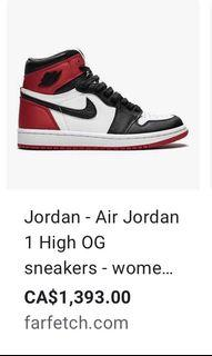 Air Jordan 1 Hightops