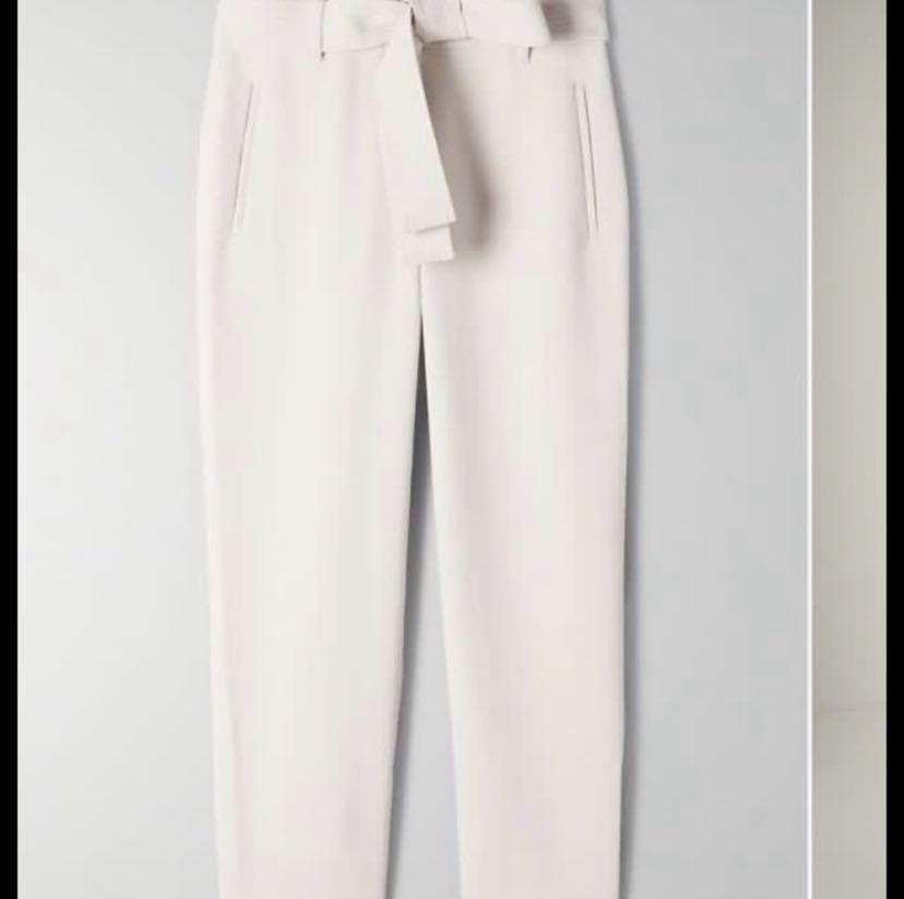 Aritzia new tie front pants