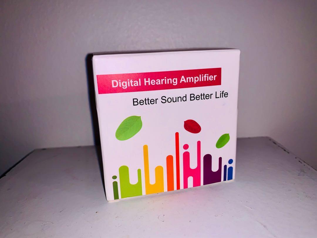 Brand new digital hearing amplifier by BLJ