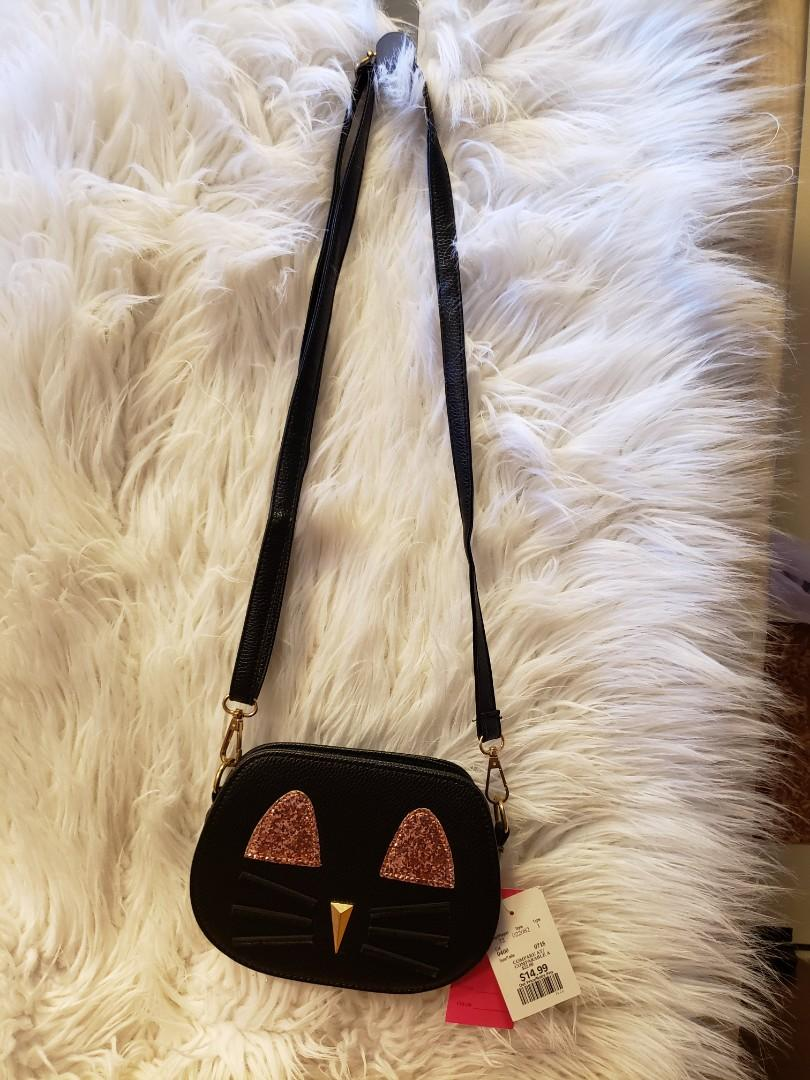 Cute cat purse
