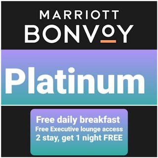 Free stay at Marriott group hotel