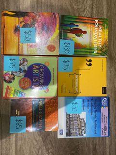 George Brown ECE 1st year textbooks
