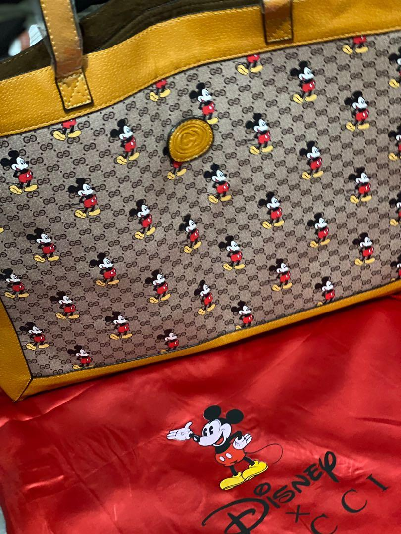 Gucci tote with pouch
