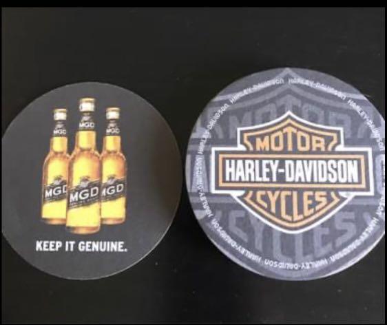 Harley Davidson coasters