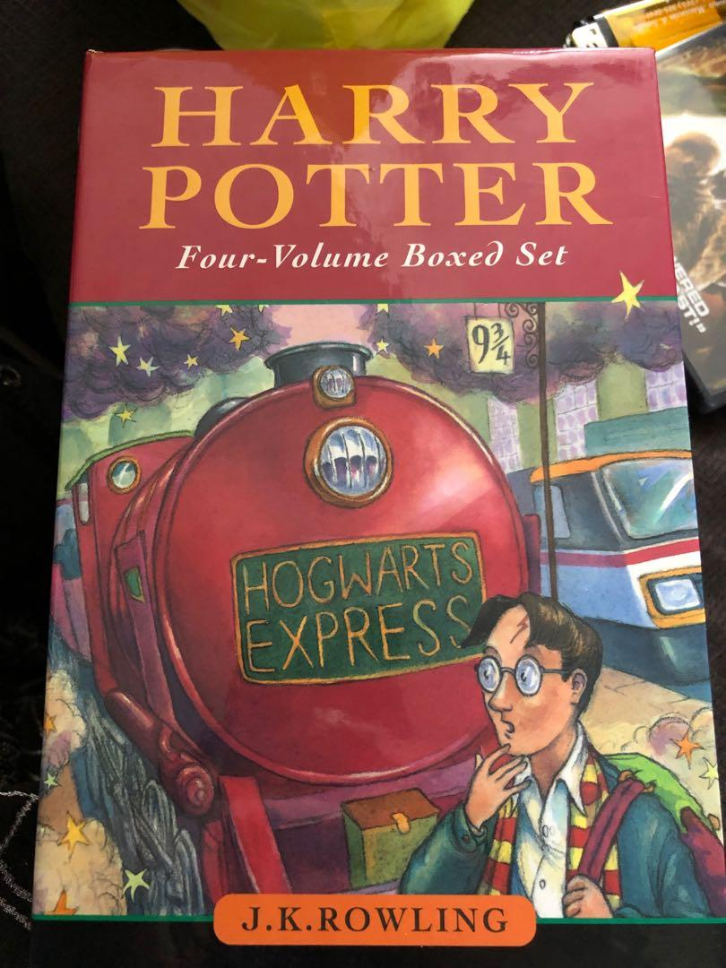 Harry Potter hard cover boxed set.