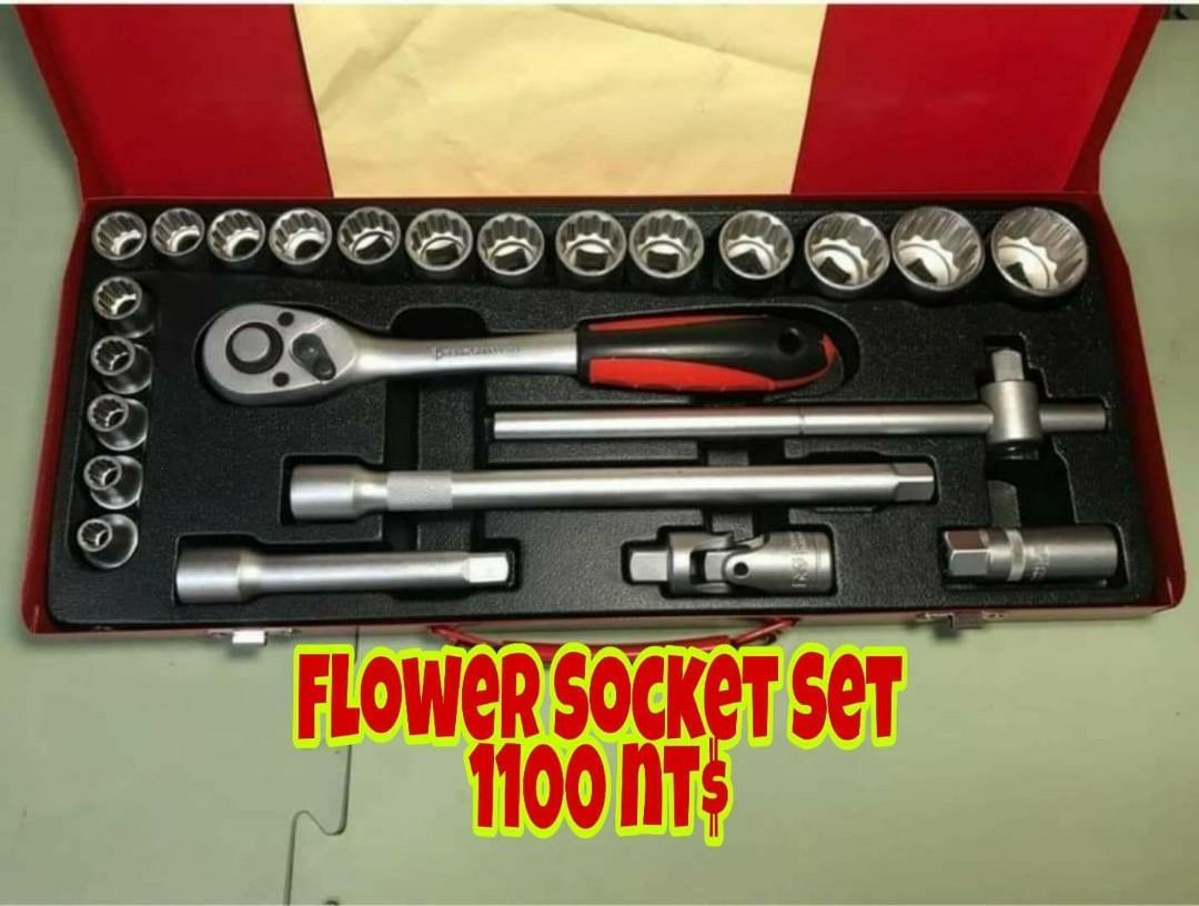 Heavy-duty Socket Set