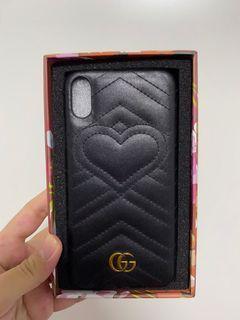 iPhone XS Max Gucci Chevron Case