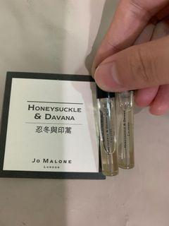 (三支價格) Jo malone試管小樣小香1.5ml