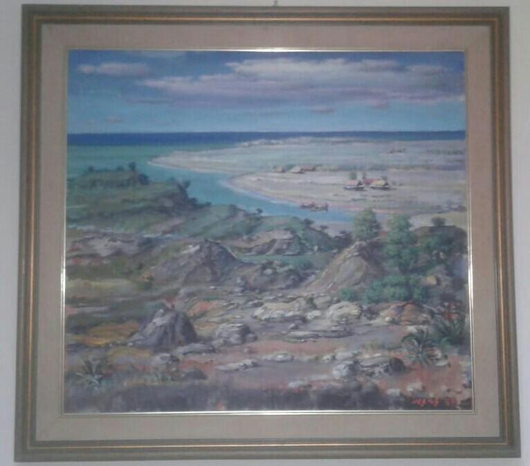 Lukisan Bukit dan Pantai