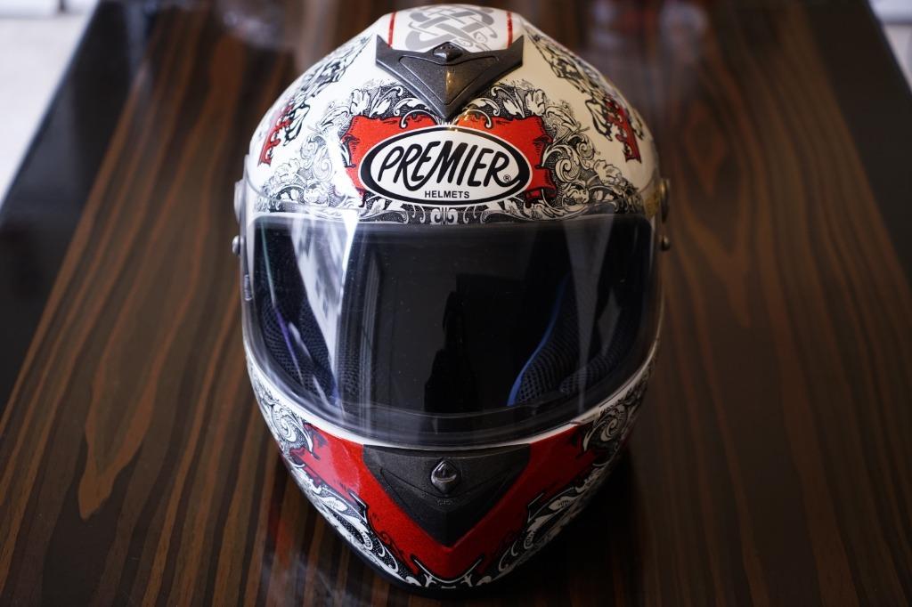 PREMIER DRAGON HELMETS 義大利 頂級 全罩 安全帽 尺寸 S Size 近全新