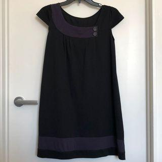 Purple & Black dress