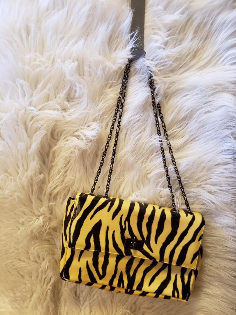 Tiger stripe purse