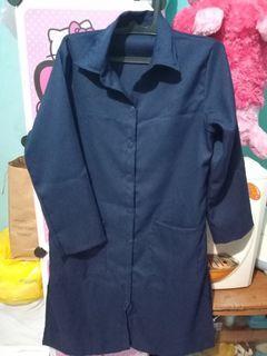 Tunik polis biru navy fit L