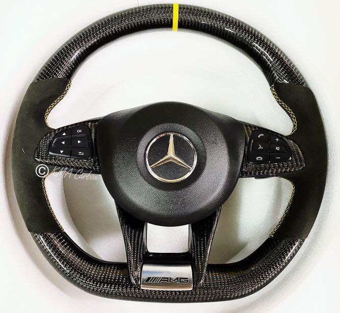 W205 AMG碳纖維方向盤