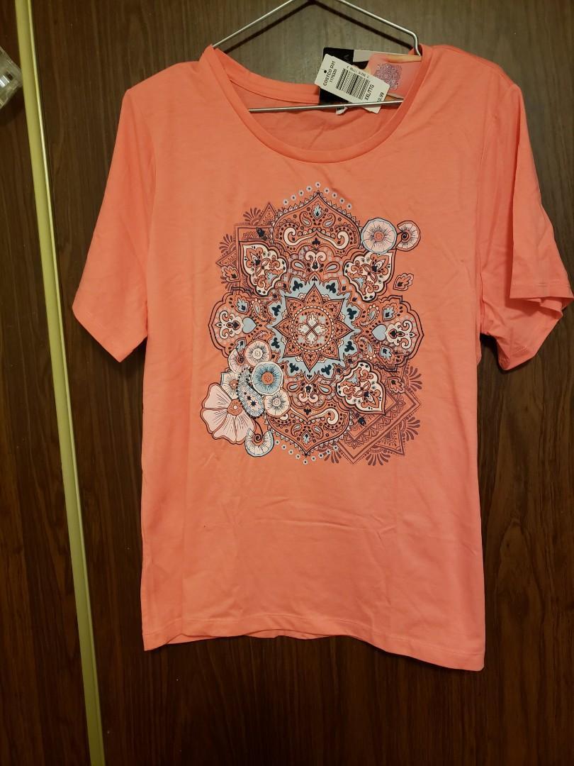 Womens Coral tshirt