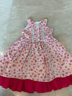 Bebe Wardrobe flower dress for girls