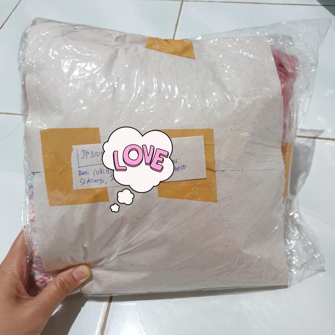 #BuktiKirimAfsheen2506 Paket ke Sidoarjo Jawa Timur.. Terima kasih sudah berkenan order 🙏😊
