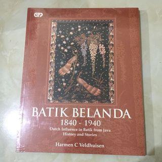 Buku Sejarah Batik Belanda