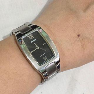 CASIO Womens Silver Watch