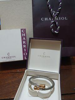 Charriol Bangle Celtic Bourse Rose Gold