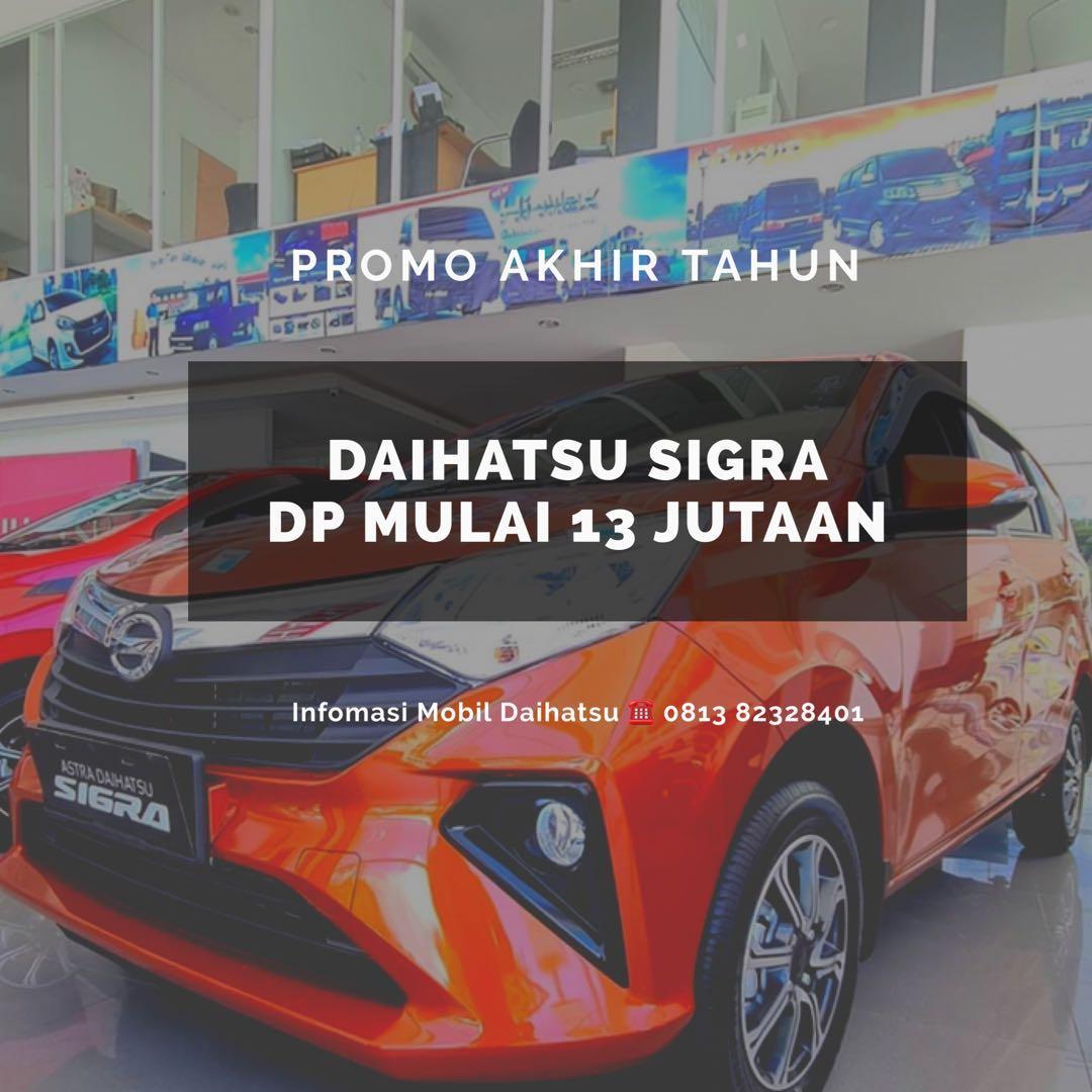 DP MURAH Daihatsu Sigra mulai 13 jutaan. Daihatsu Fatmawati