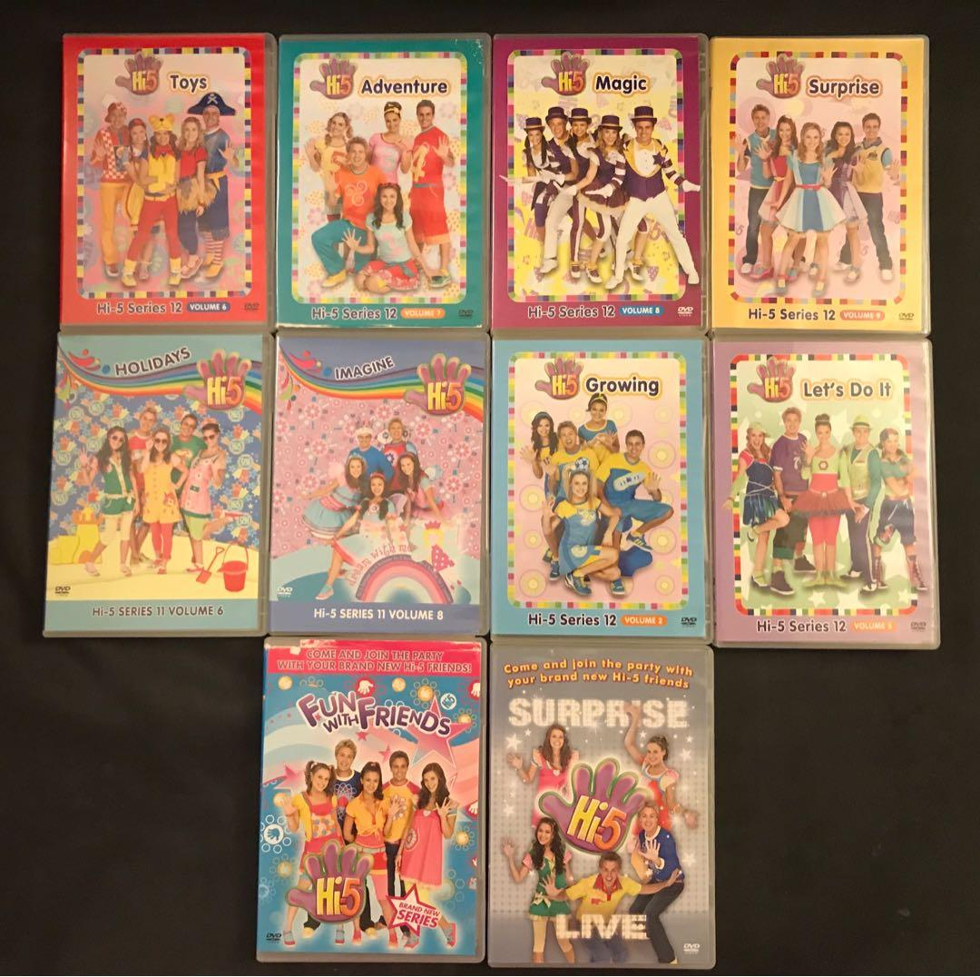 EUC Hi-5 DVDs (10 in total)